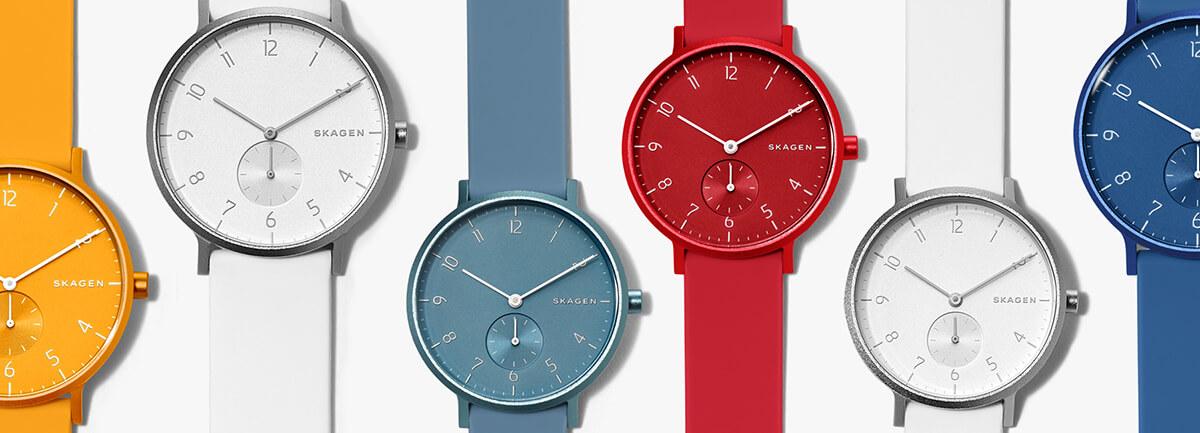 Дизайнерски часовници Skagen